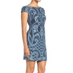 Adrianna Papel sequin lace dress